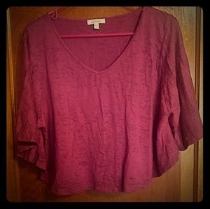 Purple Delia's Short Sleeved Top